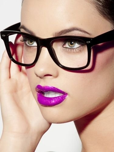 lipstick / Glasses on imgfave