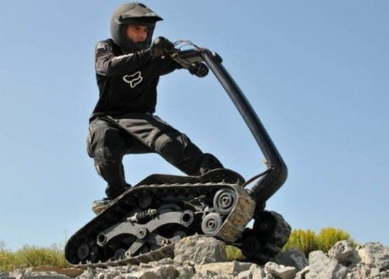 DTV Shredder - Skateboard, Jetski, ATV All Rolled into One Cool Package   Oddity Central - Collecting Oddities