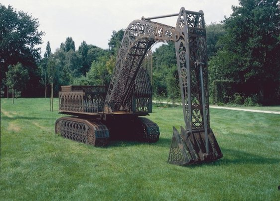 Construction Vehicles Designed as Gothic Architecture - My Modern Metropolis