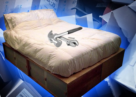 How to Build a Modern, Space-Saving Box Bed