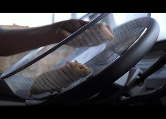Volvo Trucks – The Hamster Stunt