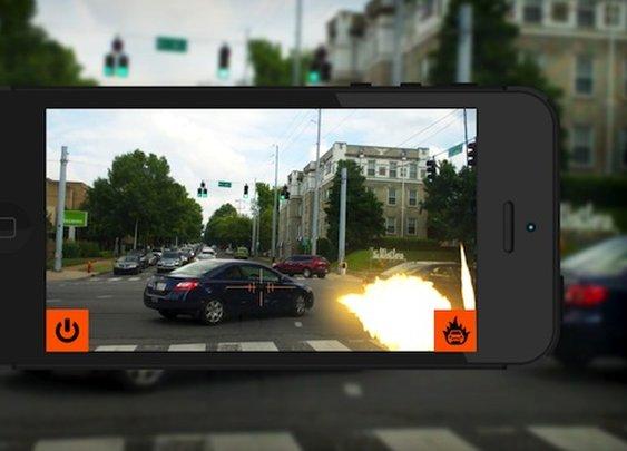 Blow Up Traffic App | inStash