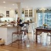 Combined Kitchen and Dining room design ideas, Small Kitchen dining room layout