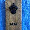 Mustache Magnetic Bottle Opener by LankfordManor on Etsy