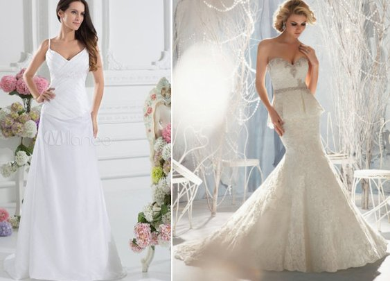 Wedding Dress Styles & Trends for Fall 2013!