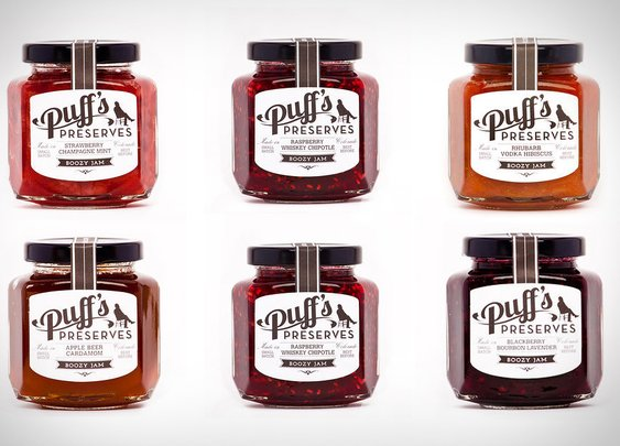 Puff's Preserves Boozy Jam | Uncrate