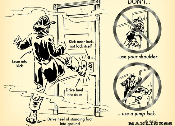 How To Break Down A Door : ITS Tactical
