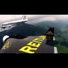 """Eye To Eye – Yves """"Jetman"""" Rossy flies in formation with the Breitling DC-3"""