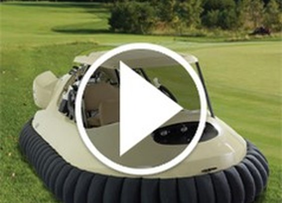 The Golf Cart Hovercraft - Video