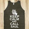 Keep Calm And Call Saul Tank Top
