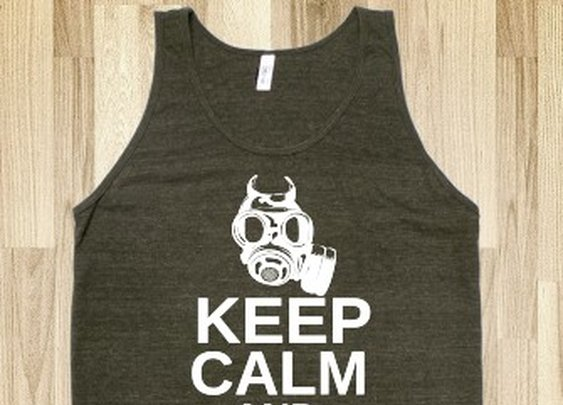 Keep Calm And Call Saul Tank Top