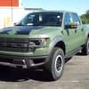 2013 Custom Olive Drab Roush Ford Raptor