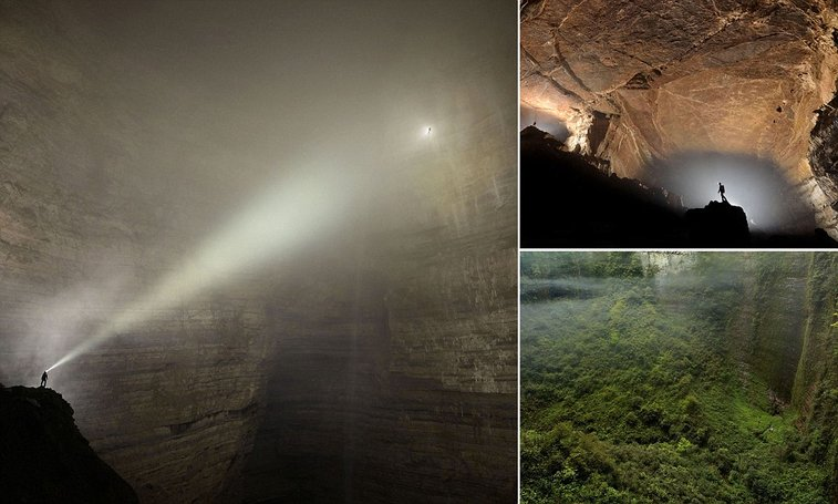 Er Wang Dong Cave In China So Huge It Has Its Own Weather System - Er wang dong cave china large weather system