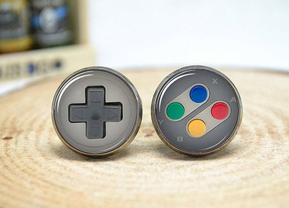 Game Consoles Cufflinks