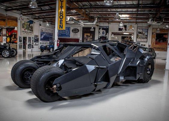 Batman's Tumbler | Jay Leno's Garage