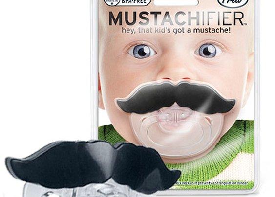 Mustache Pacifier: Lil Shaver