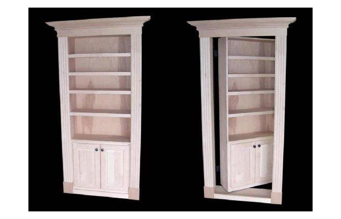 Hidden door/bookshelf | Gentlemint