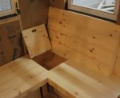 Built-In Bench with Secret Storage   StashVault