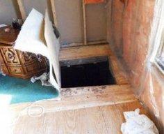 Underage Girls Hide Under Trap Door   StashVault