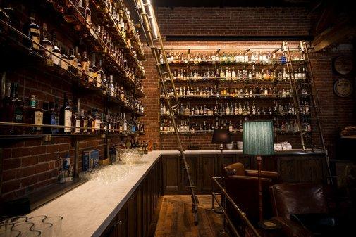 Check Out the 1,500-Bottle Multnomah Whiskey Library - Eater Inside - Eater PDX