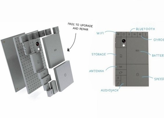 Phoneblocks - A Phone That You Can Build Like Lego - BonjourLife