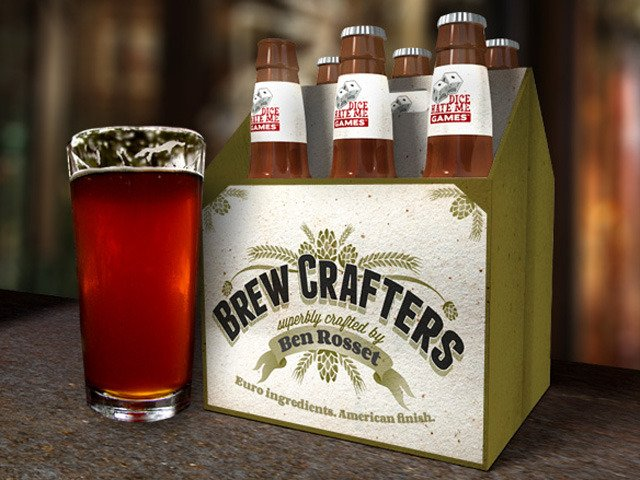 Brew Crafters: A Board Game About Making Beer by Dice Hate Me Games — Kickstarter