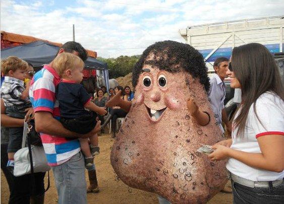 Brazilian Testicle Mascot 'Mr. Balls' Raises Awareness of Testicular Cancer