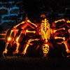 The Great Jack O'Lantern Blaze, Over 5,000 Carved Pumpkins Arranged in Spooky Illuminated Sculptures