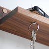 Magnetic Key Ring Holder & Shelf: Because You Can't Lose A Shelf