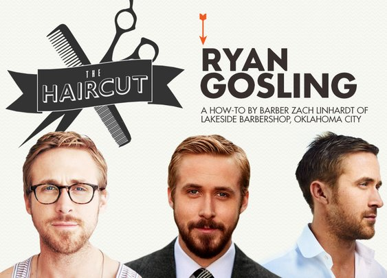 The Haircut: Ryan Gosling - Primer Magazine