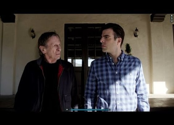 Old Spock battles New Spock in the greatest car commercial ever