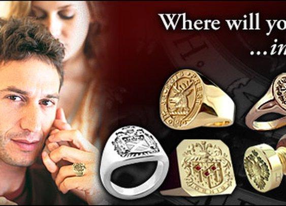 HistoricalNames.com   Family Crest Rings for Men   Coat of Arms Rings