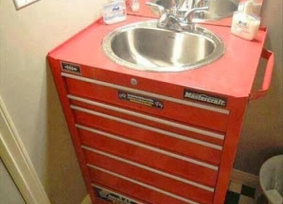 Cool sink Cabinet