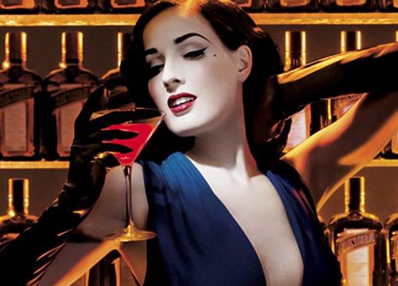 Dita Von Teese, Burlesque Bombshell - Delysia Style