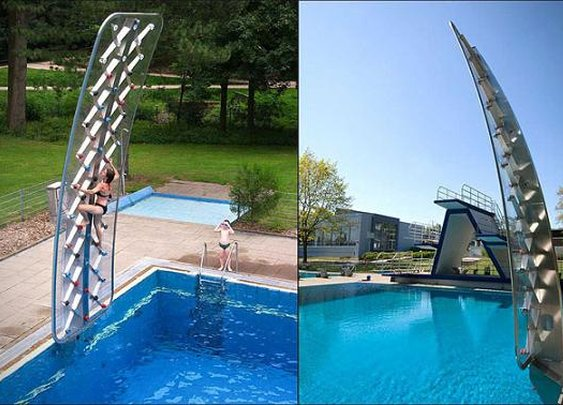 Men's Gear: AQUACLIMB POOLSIDE CLIMBING WALL