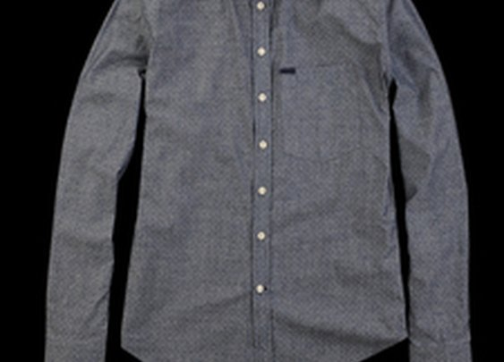 UNIONMADE - French Trotters - Sam Shirt in White Dot
