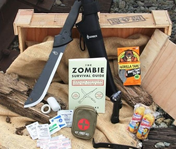 Zombie Survival Crate - Gear for The Lone Survivor | Gear | CoolPile.com