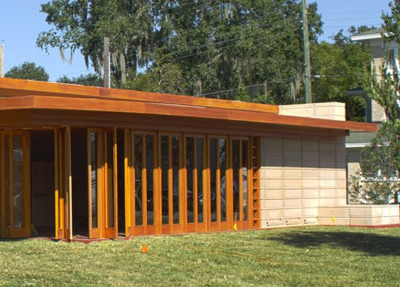 Unbuilt Frank Lloyd Wright house realised after 74 years