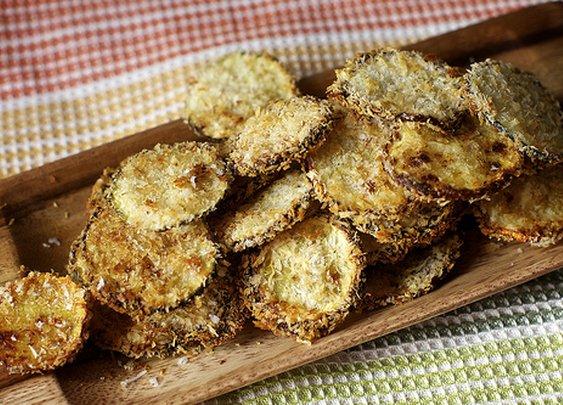 zucchini parmesan crisps | smitten kitchen