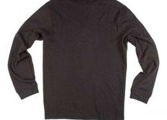 Zip Mock in Black