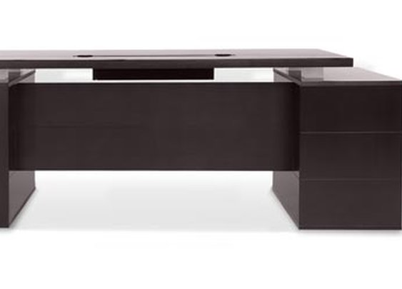 Ford Desk - Dark | Zuri Furniture