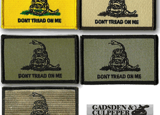 Gadsden Don't Tread On Me Shoulder Patches