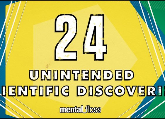 24 Unintended Scientific Discoveries - mental_floss on YouTube (Ep. 35) - YouTube