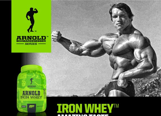 Iron Whey by Arnold Schwarzenegger Series