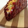 The bacon weave taco shell |
