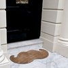Moustache Door Mat by Thabto