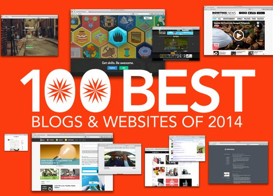 The 100 Best, Most Interesting Blogs and Websites of 2014 | DailyTekk