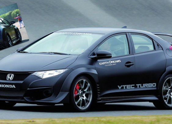 2015 Honda Civic Type R VTEC Turbo Unveils