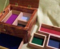Wooden Box with Secret Drawer   StashVault