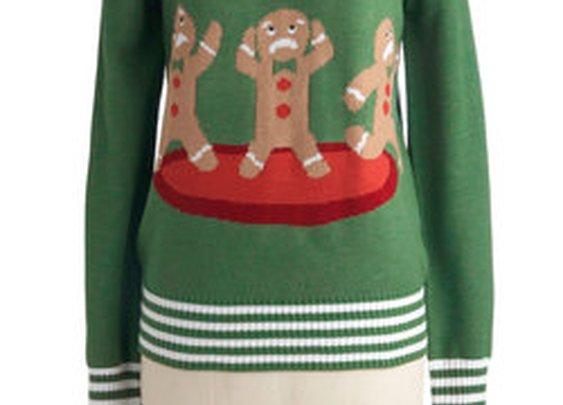 Cookie Cutting Edge Sweater